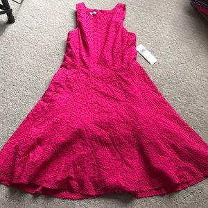 Maggie London eyelet dress size 6